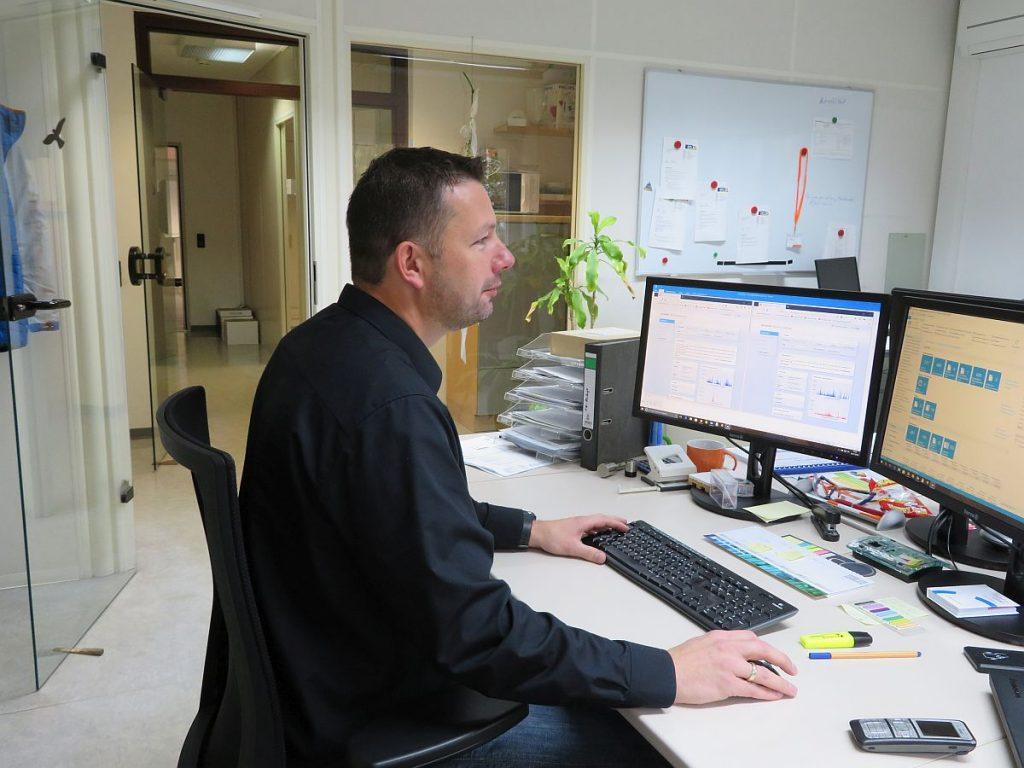 Malte Brandl, Leiter der IT beim Beschichtungsunternehmen Holzapfel Group
