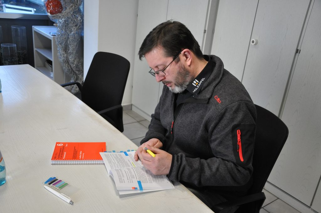 Gerhard Jammer, Leiter Qualitätswesen, QMB, UMB bei Holzapfel
