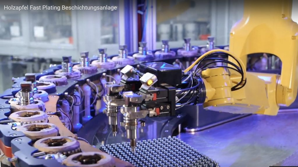 Fast Plating Technologie